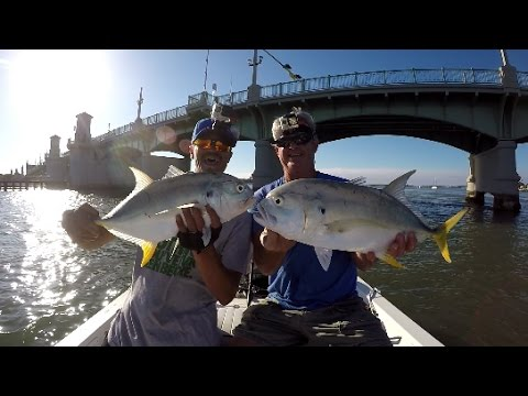 Inshore Fishing, Multi Species St. Augustine Florida(ft.HOOKEM IN THE MOUTH)