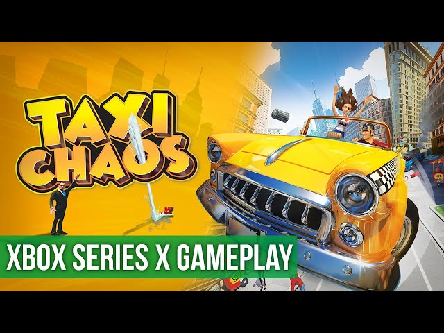 Taxi Chaos - Gameplay (Xbox Series X) HD 60FPS
