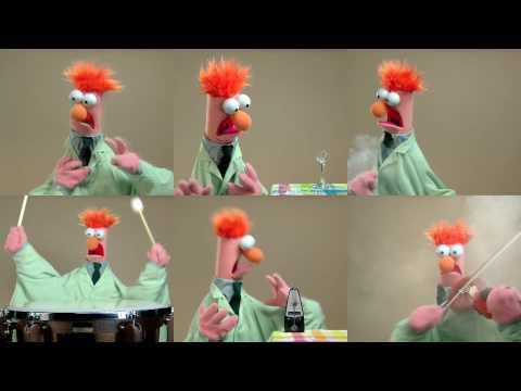 Oda bucuriei de la Papuşile Muppet