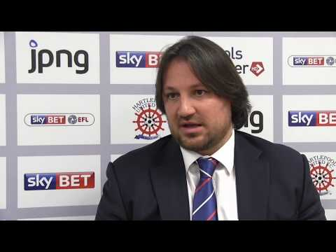 Craig Harrison Appointed As Hartlepool United Manager