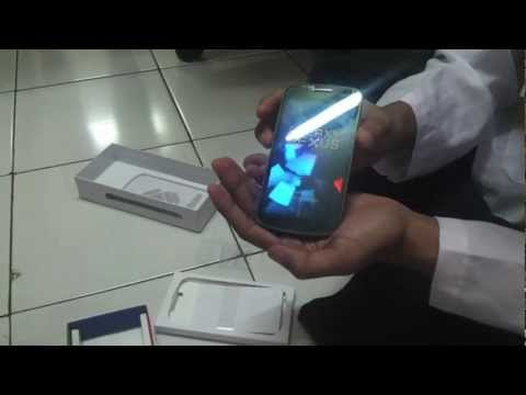 Unboxing Samsung Galaxy Nexus Indonesia