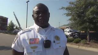SHERIFF BRUNSON GOES TO CAREER FAIR
