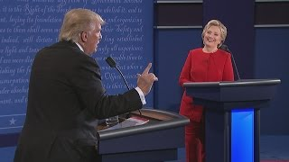 Hillary Clinton responds to Donald Trump's jibe about stamina