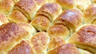 Рогалики с повидлом Рогалики Рецепт Рогалики в духовке