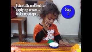 Akshat Ankan's demo for applying face cream in 5 easy steps......Just for fun Thumbnail