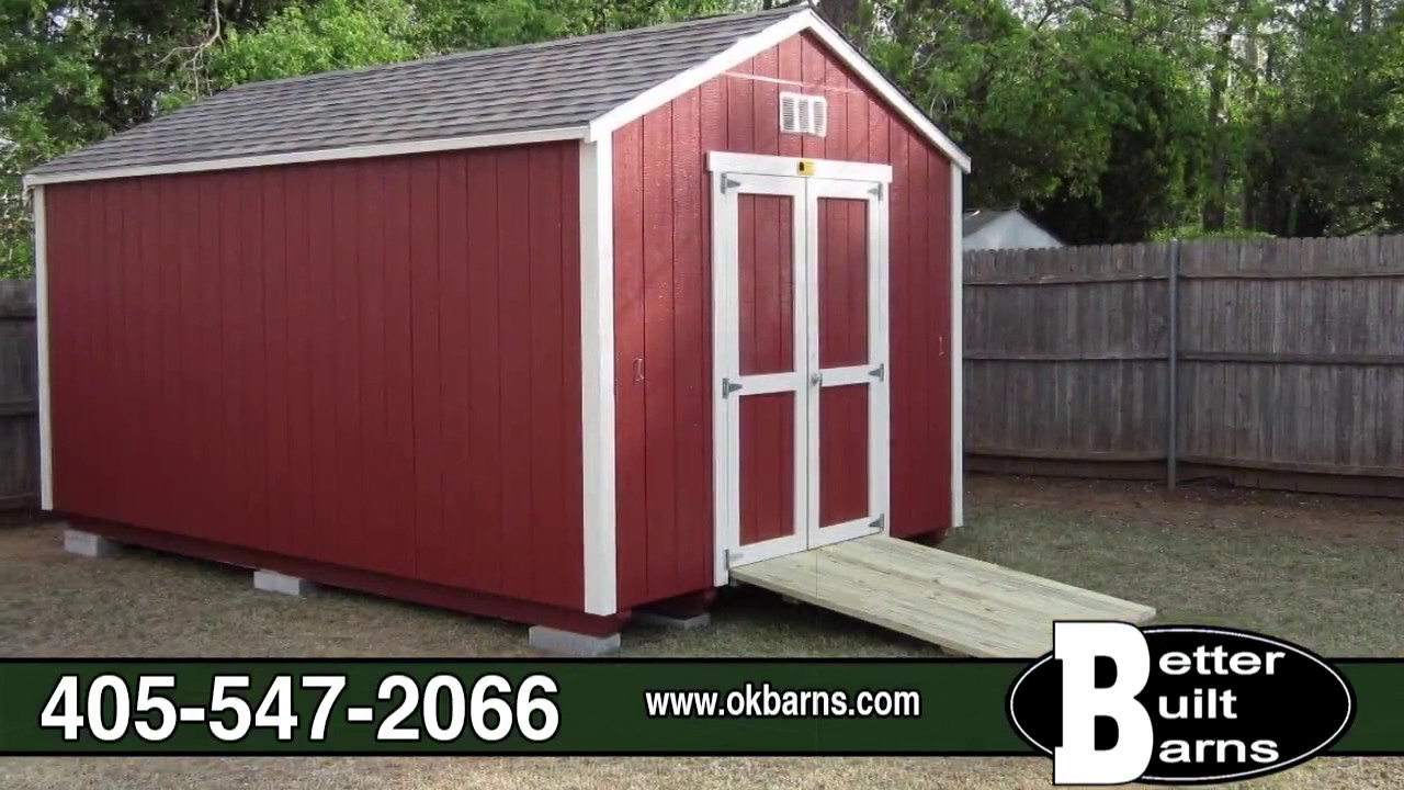 Exceptional Better Built Barns | Portable Building, Garden Shed, Carport, Trailer,  Greenhouse | Perkins, OK