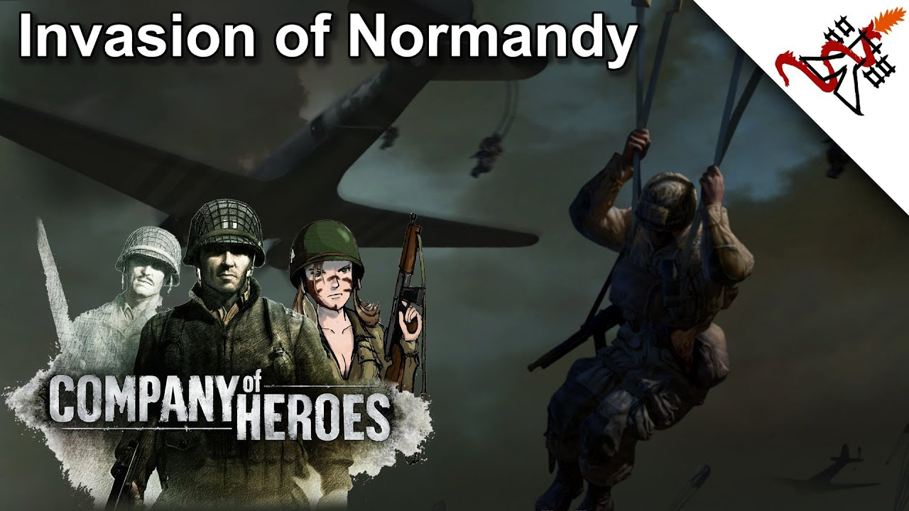 Company Of Heroes 11 Hebecrevon Invasion Of Normandy Hd 1080