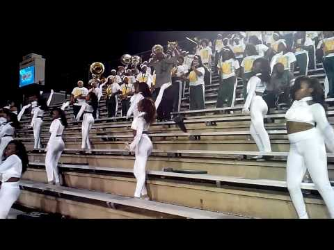 Jeff Davis High School Band vs Carver 2016