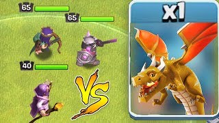 Using NEW LvL  HEROES vs. THE BOSS!!!