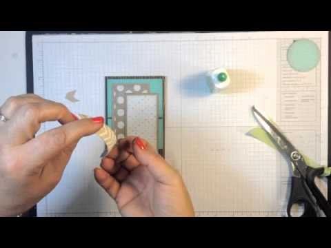 Stampin Up Video Tutorial Masculine Birthday Card Idea Youtube