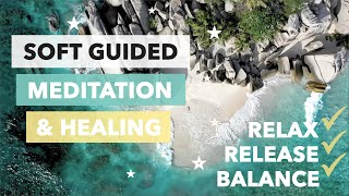 🌜Guided Meditation for Deep Relaxation, full Body Release and inner Serenity 🌛