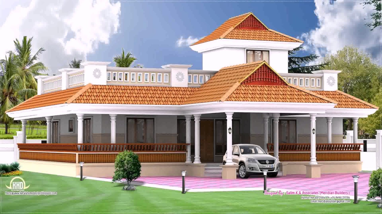 Kerala Style 2 Bedroom House Plans Youtube - House-of-bedrooms-style