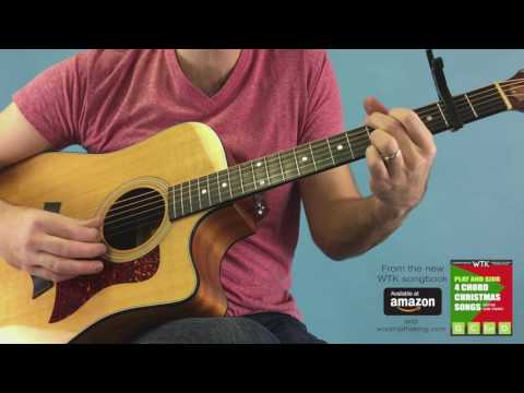Super Simple O Holy Night 4 Chord Guitar for Beginners
