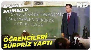 Öğretmen | Öğrencilerinden Hüsnü'ye Öğretmenler Günü Hediyesi