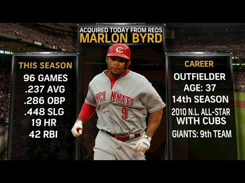 SF@PIT: Giants TV on acquiring Marlon Byrd