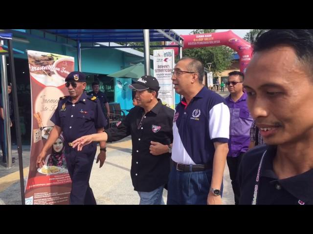 Lawatan Datuk Seri Panglima Dr Salleh Said Keruak ke #myDOF Valley #MAHA2016
