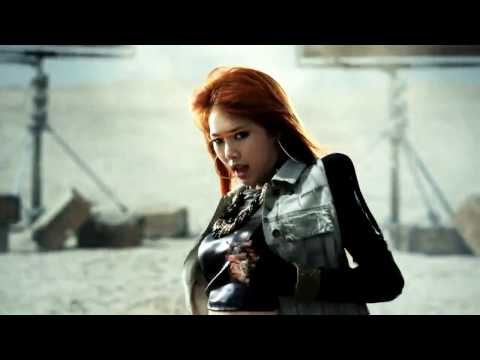 4MINUTE  HUH hit your heart MV HD