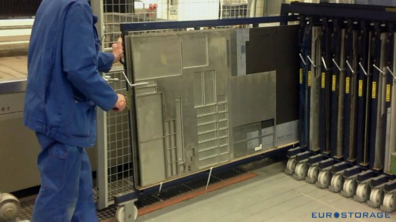 Vertical Storage Of Metal Sheets And Cut Offs Youtube