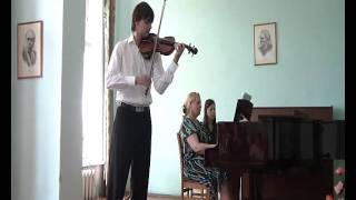 Manciu Ionel plays B.Dubosarschi Konzertstuck