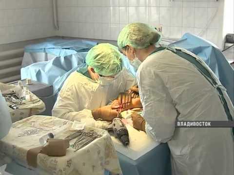 """В """"тысячекоечной"""" больнице Владивостока устанавливают новое оборудование"""