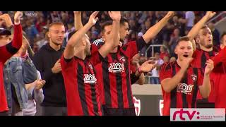 Fc SpartakTrnava-Olympija Ljublana  1-1 Highlights