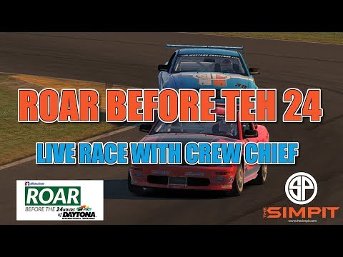 iRacing - Roar Before The 24 - The Race with Michi Hoyer Crew Chief