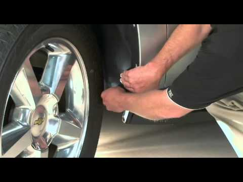 WeatherTech No-Drill MudFlap Installation Tips - 2010 Chevrolet Tahoe