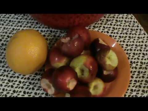 Компот из яблок и апельсинов. Рецепт. Компот из яблок.