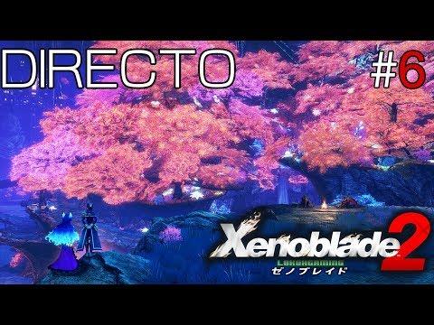 Xenoblade Chronicles 2 - Directo #6 Español - Explorando el 100% - El Titan Uraya - Nintendo Switch