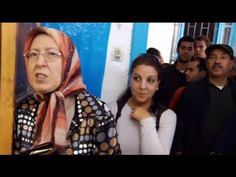 Massive turnout for Tunisia's historic poll
