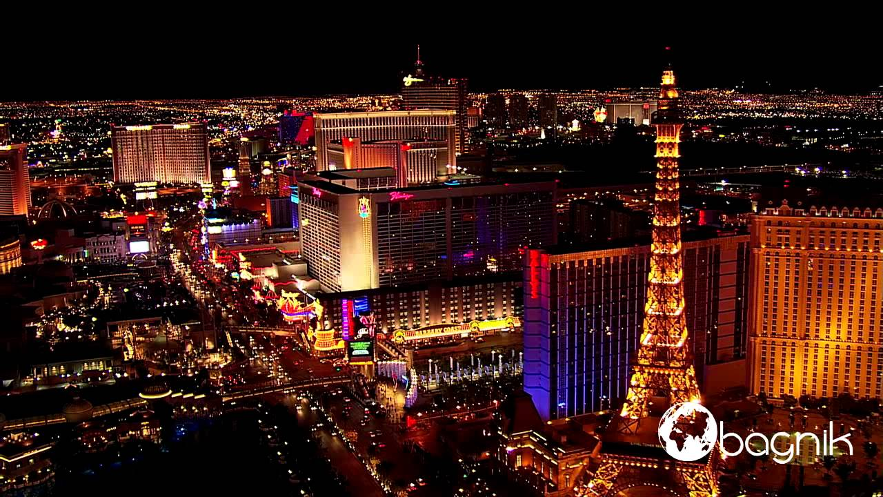 Awesome Las Vegas Aerial,Neon Lights   YouTube Amazing Pictures