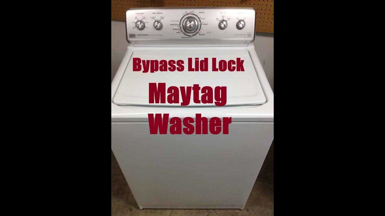 Maytag Bravos Washer Reset