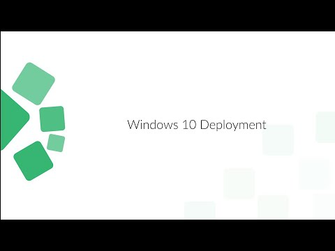 Windows 7 To Windows 10 Migration Using Software Deployment