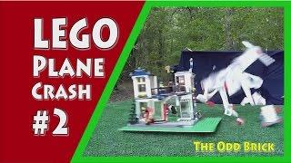 LEGO Plane Crash #2 - Air Ambulance Plane Crashes into Grocery Store