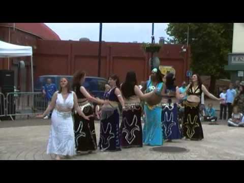 rashiqa belly dance in the square 2011 boom boom tak