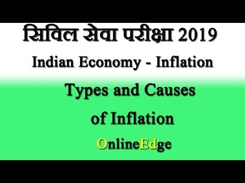Session on Inflation For UPSC Civil Services - Economics By Rishi Jain Part1