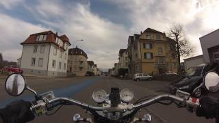 Honda Valkyrie first ride 2017, some cruising in the Thurgau / St.  Gallen area of Switzerland