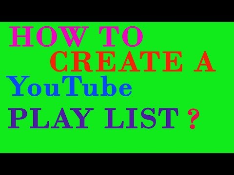 How To Create a Playlist on Your Youtube Channel?IN HINDI
