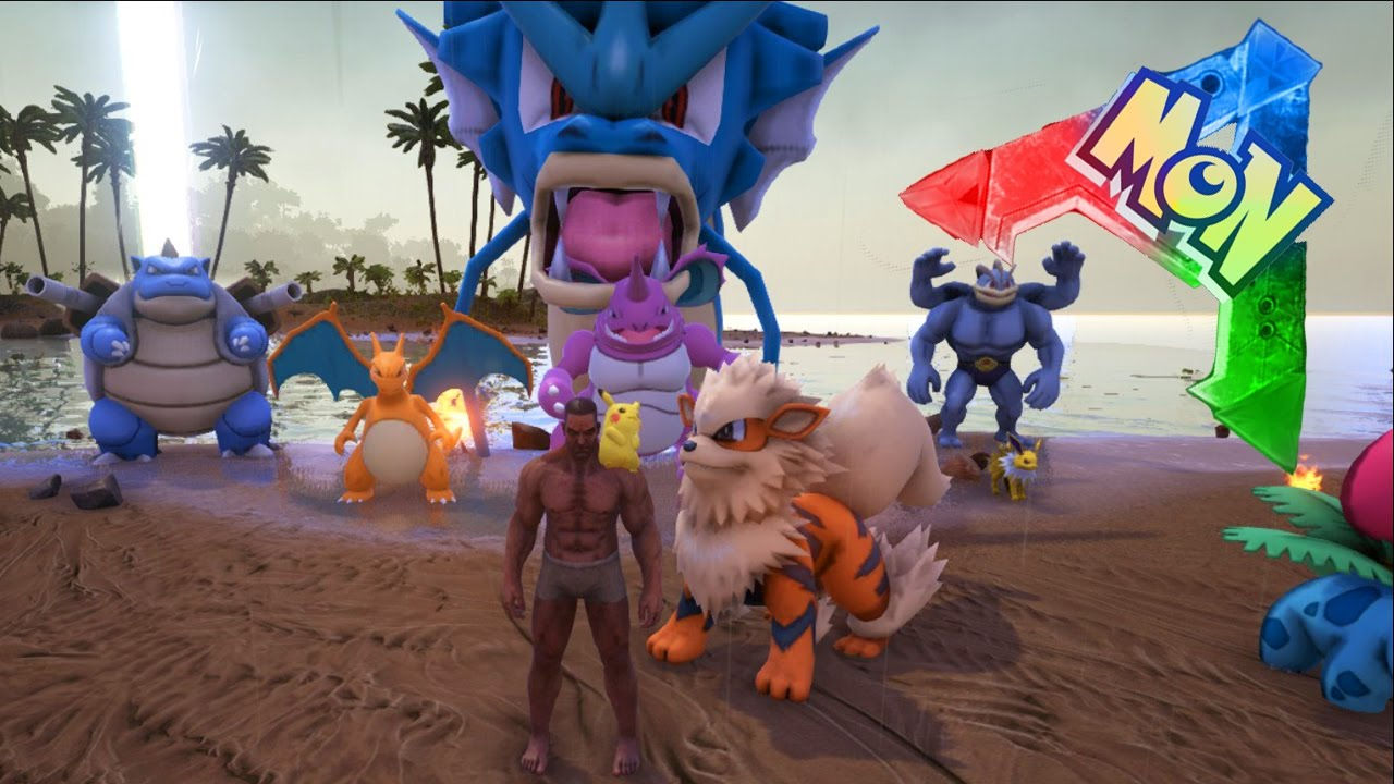 Pokemon ark arkmon novo mod de pokmon no ark survival evolved pokemon ark arkmon novo mod de pokmon no ark survival evolved youtube malvernweather