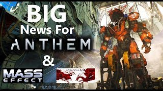 Bioware Drops BIG Bombs At PAX West Regarding Anthem, Mass Effect & Dragon Age.....WOW!!