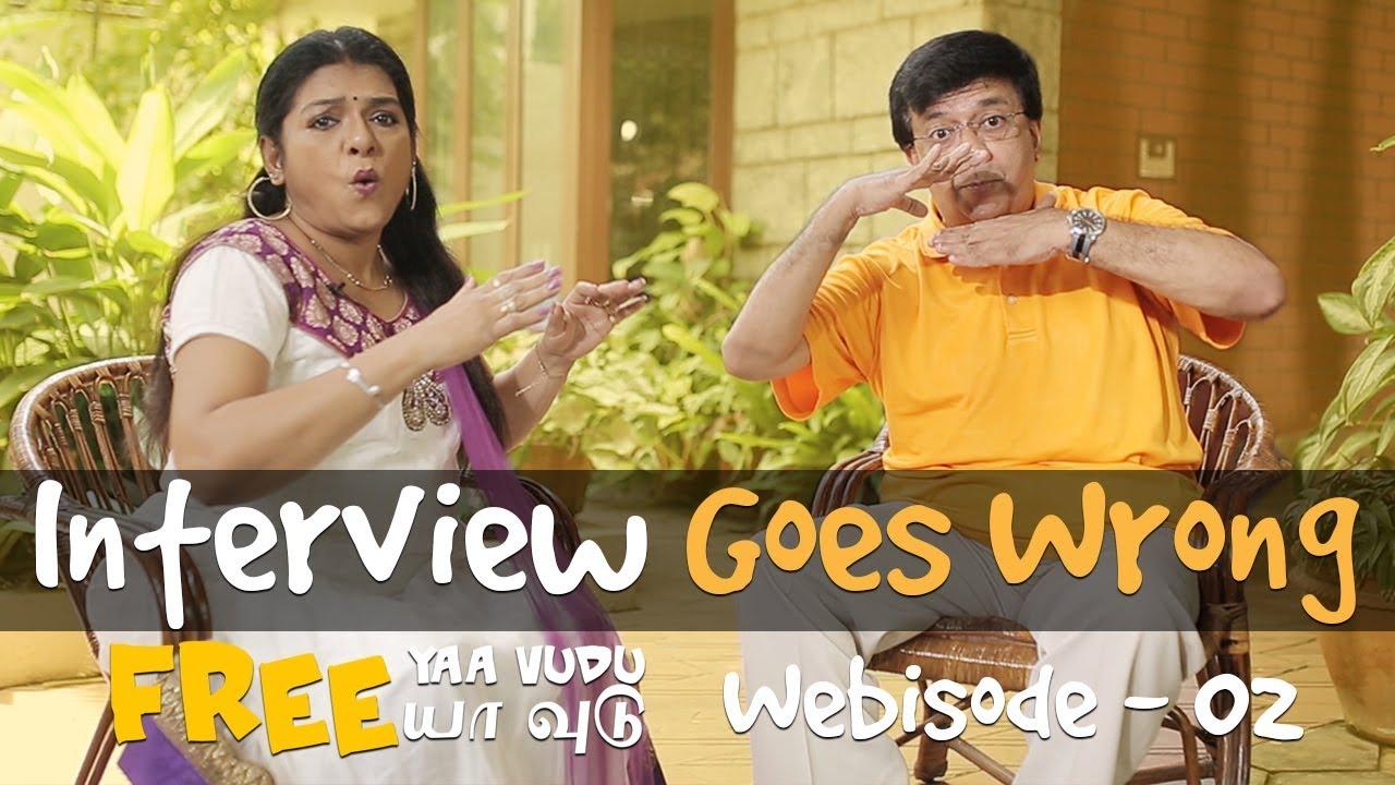Free Yaa Vudu Webisode 02 - Interview Goes Wrong   Web Series Tamil 2017   Y. G. Mahendra, Yuvashree