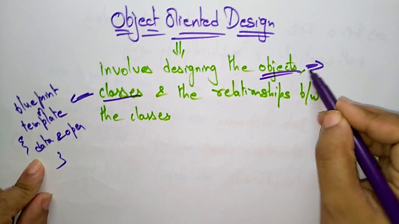 Object Oriented Design Software Engineering Youtube
