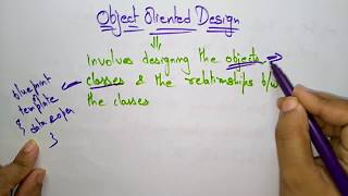 object oriented  design |  software engineering |
