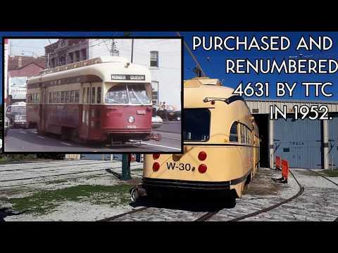 TTC Rail Grinder W-30 at the Streetcar Museum
