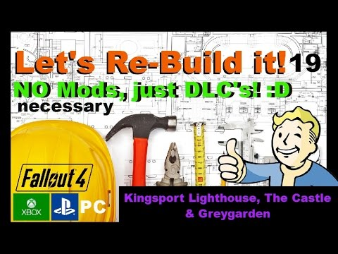 Fallout 4 Settlement Building - Let's Re-Build! :D - Part 19  - Congratulation to all amercians! :D