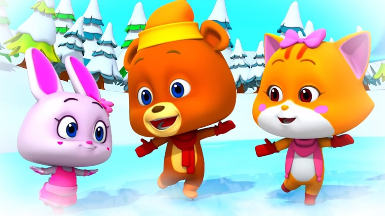 ICE SKATING | Cartoons Videos & Kids Shows for Children | Funny Cartoons