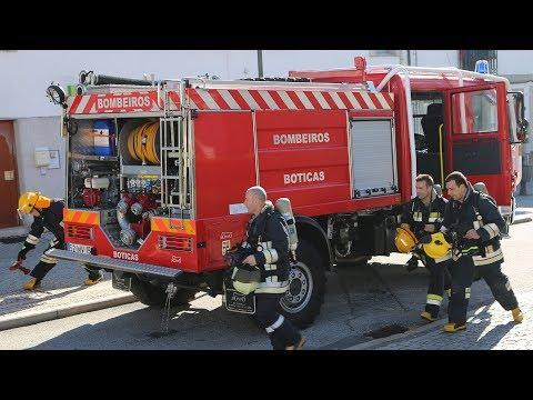 Simulacro de Incêndio na Biblioteca Municipal | 2019 | 4K | BOTICAS