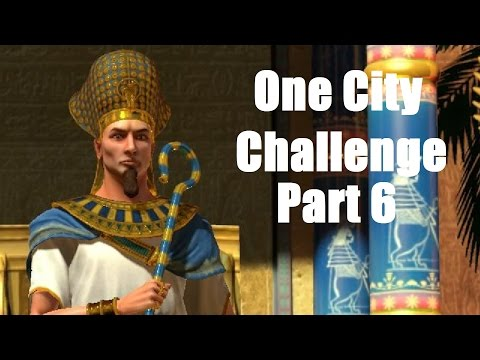 Let's Play Civ 5 Egypt One City Challenge Ep6 1400s Industrial Revolution