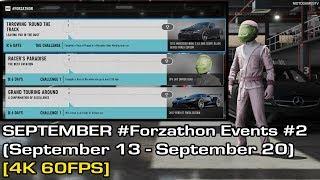 Forza Motorsport 7 - September #Forzathon Events #2 (September 13 - September 20) [4K 60FPS]