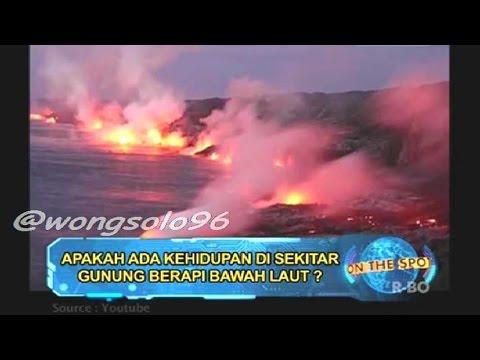 On The Spot 'INDEPTH' Gunung Berapi Bawah Laut